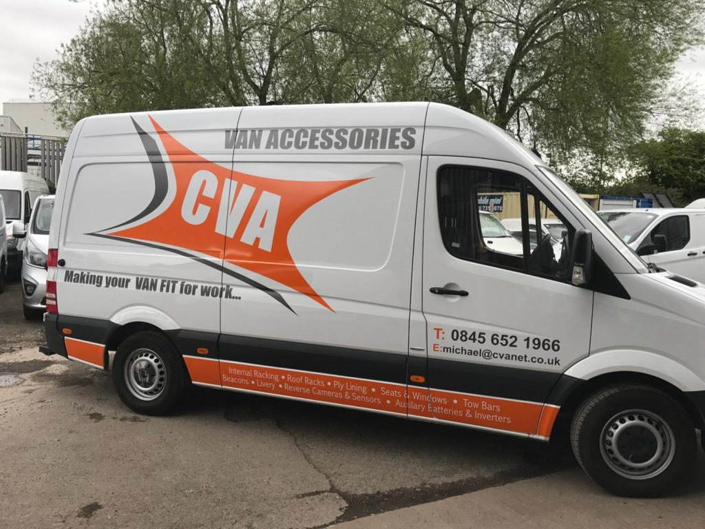 cva vehicle graphics in leicester